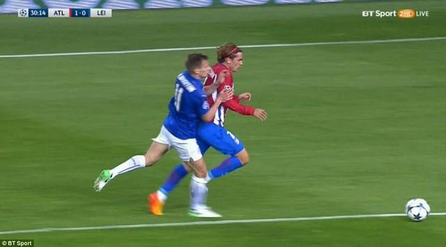 Atl Madrid 1-0 Leicester City: Griezmann lập công, Atl Madrid giành lợi thế trước trận lượt về - Ảnh 2.
