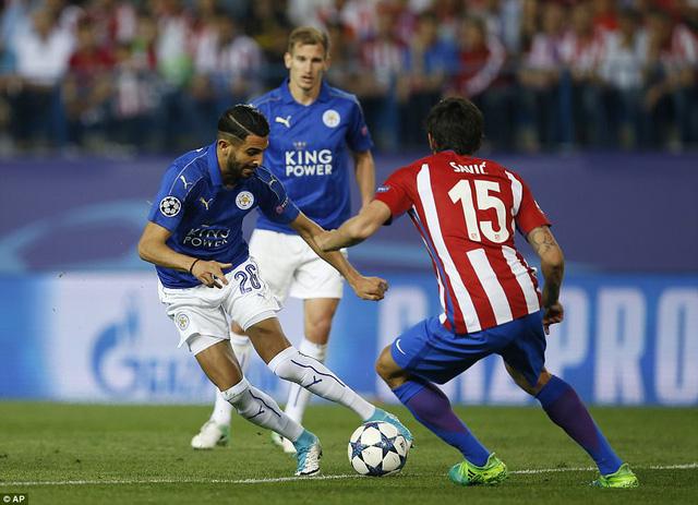 Atl Madrid 1-0 Leicester City: Griezmann lập công, Atl Madrid giành lợi thế trước trận lượt về - Ảnh 4.