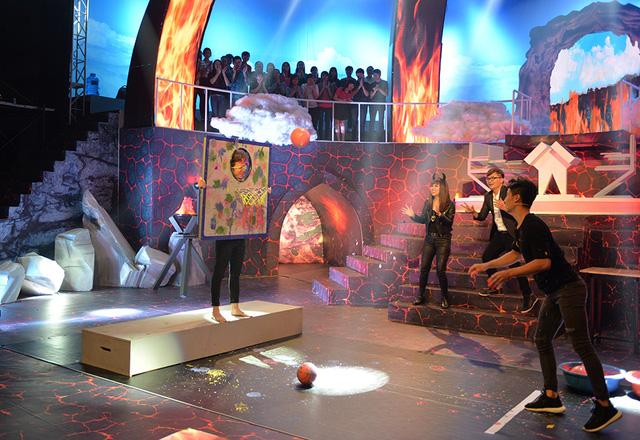Điểm lại những gameshow vận động siêu hài hước trên sóng VTV - Ảnh 3.