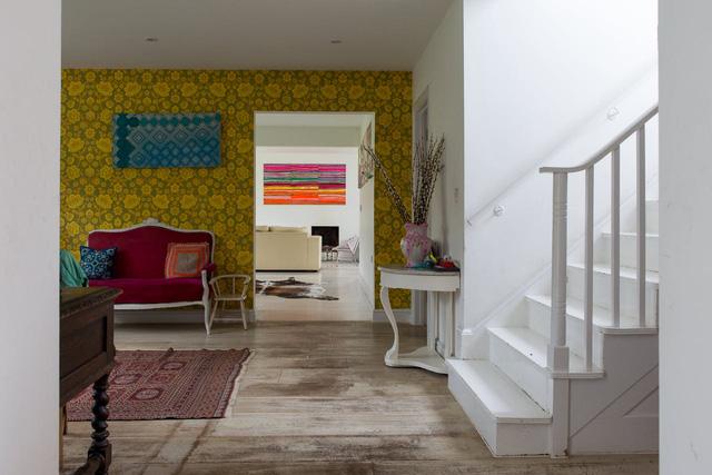 Ngôi nhà có không gian đầy rẫy họa tiết ấn tượng - Ảnh 4.