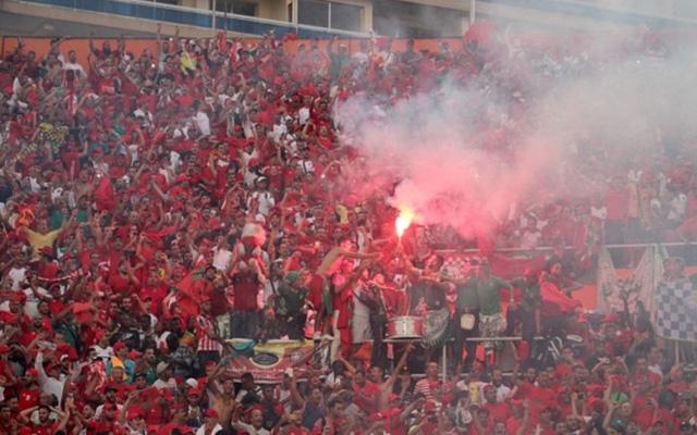 [CHÙM ẢNH] Người dân Maroc tràn xuống đường ăn mừng vé dự World Cup 2018 - Ảnh 4.