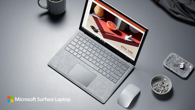 Ra mắt Surface Laptop, Microsoft quyết đấu với Apple - Ảnh 1.