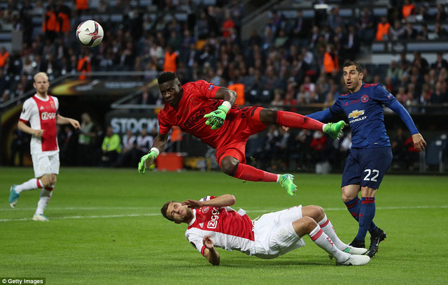 Ảnh: Man Utd đánh bại Ajax trong trận chung kết Europa League 2017 để đăng quang ngôi vô địch - Ảnh 5.