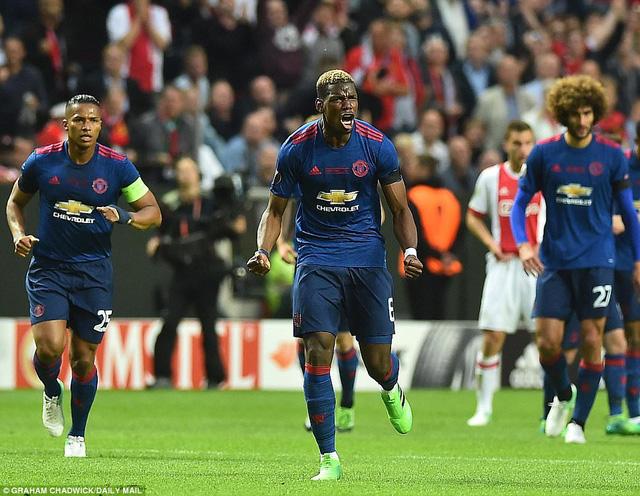 Ảnh: Man Utd đánh bại Ajax trong trận chung kết Europa League 2017 để đăng quang ngôi vô địch - Ảnh 6.