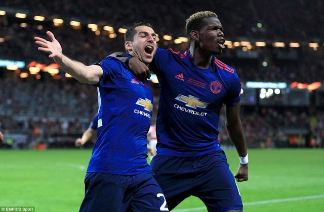 Ảnh: Man Utd đánh bại Ajax trong trận chung kết Europa League 2017 để đăng quang ngôi vô địch - Ảnh 7.