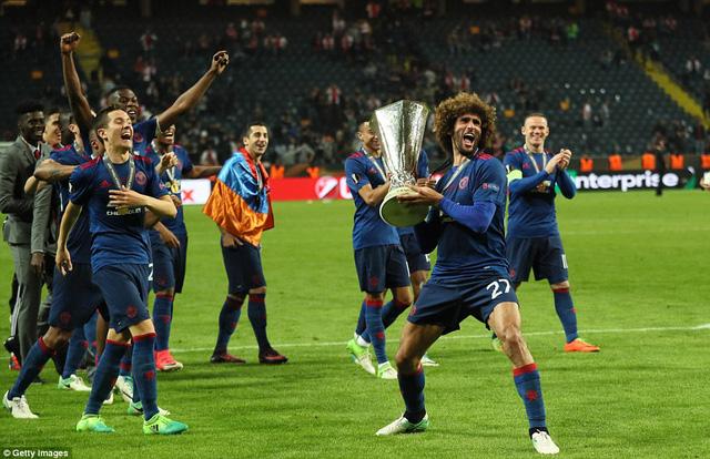 Ảnh: Man Utd đánh bại Ajax trong trận chung kết Europa League 2017 để đăng quang ngôi vô địch - Ảnh 12.