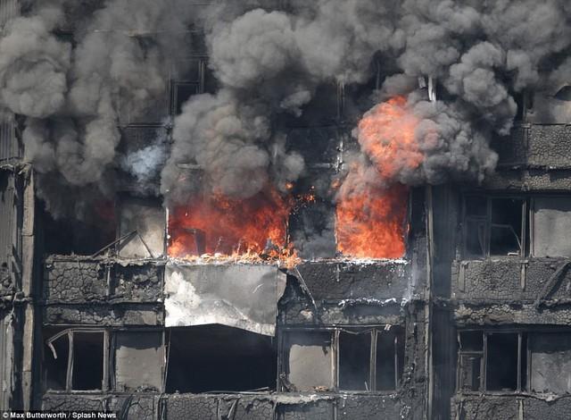 Những hình ảnh kinh hoàng còn lại sau vụ cháy chấn động ở thủ đô London - Ảnh 5.