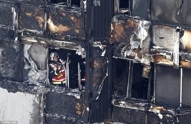 Những hình ảnh kinh hoàng còn lại sau vụ cháy chấn động ở thủ đô London - Ảnh 3.
