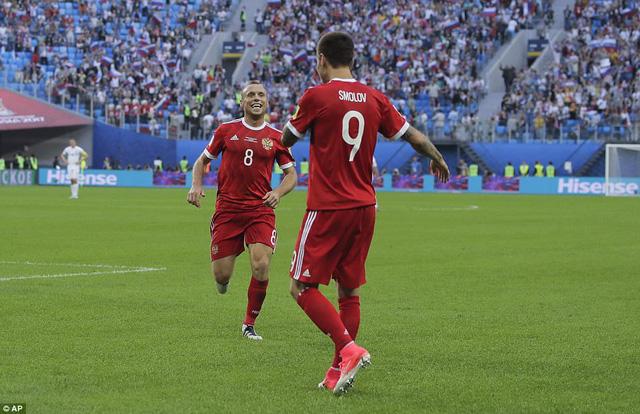 Cúp Liên đoàn các châu lục 2017: ĐT Nga thắng ấn tượng trận ra quân - Ảnh 1.