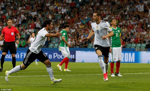 ĐT Đức 4-1 ĐT Mexico: ĐT Đức gặp ĐT Chile trong trận chung kết Cúp Liên đoàn các châu lục - Ảnh 2.