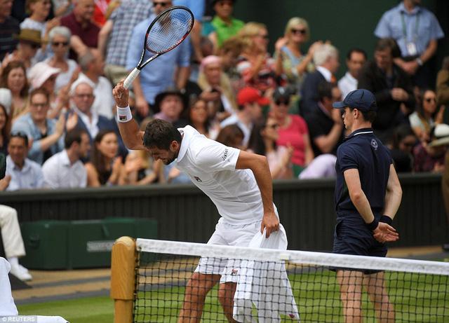 Ảnh: Những khoảnh khắc ấn tượng trong trận chung kết Wimbledon của Roger Federer - Ảnh 12.