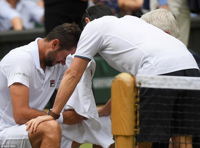 Ảnh: Những khoảnh khắc ấn tượng trong trận chung kết Wimbledon của Roger Federer - Ảnh 13.