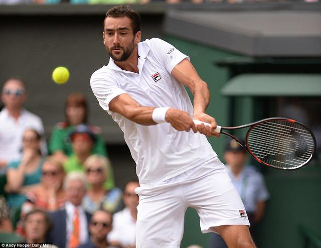 Ảnh: Những khoảnh khắc ấn tượng trong trận chung kết Wimbledon của Roger Federer - Ảnh 4.