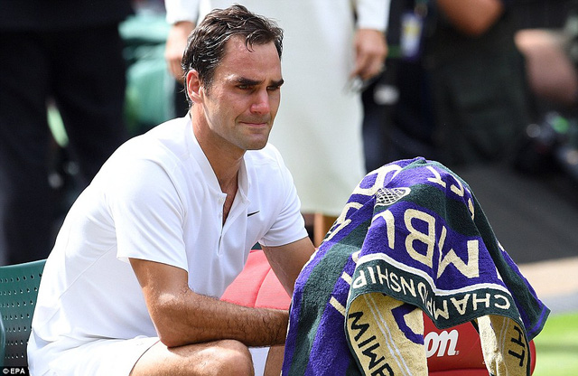 Ảnh: Những khoảnh khắc ấn tượng trong trận chung kết Wimbledon của Roger Federer - Ảnh 15.