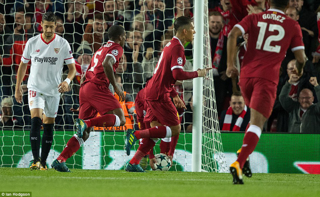 Liverpool 2-2 Sevilla: Cầm vàng lại để vàng rơi! - Ảnh 1.