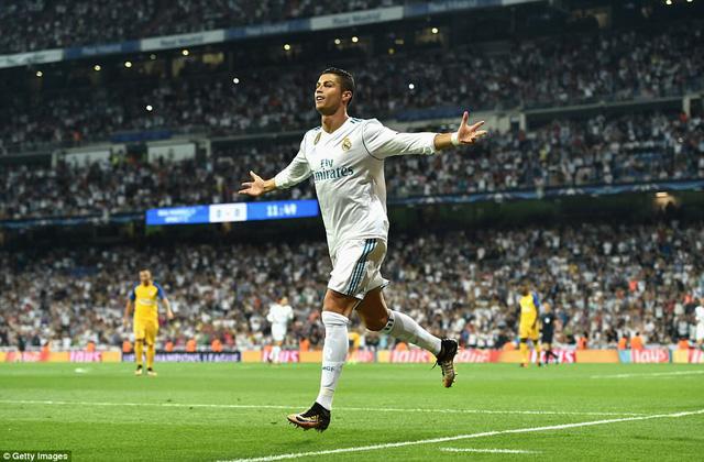 Real Madrid 3-0 APOEL: Kền kền giải khát chiến thắng, CR7 hụt hat-trick đáng tiếc - Ảnh 1.