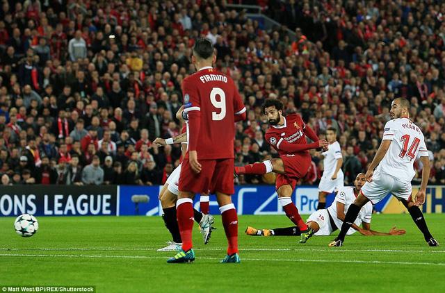 Liverpool 2-2 Sevilla: Cầm vàng lại để vàng rơi! - Ảnh 2.