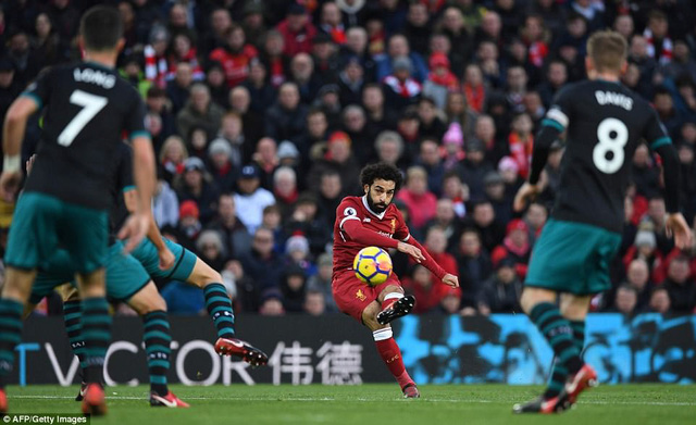 HLV Liverpool lo Salah tịt ngòi trước Man Utd - Ảnh 1.