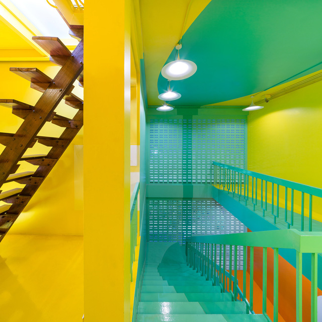 Ấn tượng hostel rực rỡ như thế giới hoạt hình ở Thái Lan - Ảnh 5.