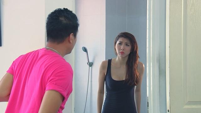 Phim Bước nhảy hoàn vũ - Tập 20: Chụp ảnh khỏa thân vì môi trường, Hạ Vy (Ngọc Quyên) dính scandal lớn - Ảnh 1.