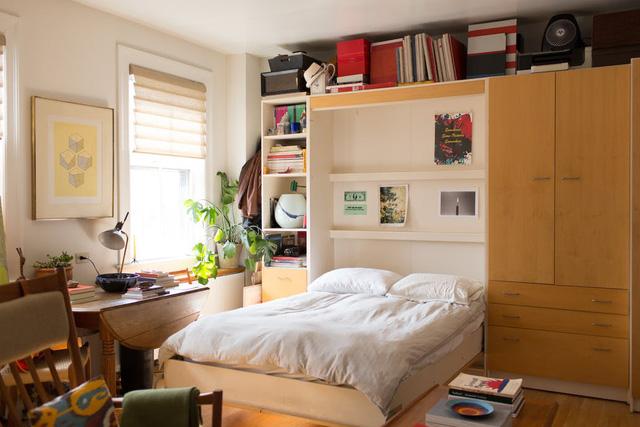 Mê mẩn căn hộ studio nhỏ xinh với nội thất toàn bằng gỗ - Ảnh 5.