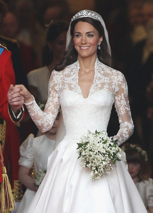 Chiêm ngưỡng váy cưới của những người đẹp hoàng gia - Ảnh 6.