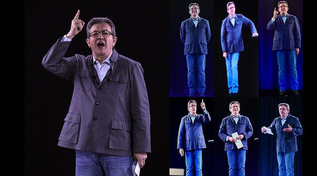 Ứng cử viên Tổng thống Pháp cùng lúc xuất hiện ở 6 thành phố khác nhau - ảnh 1