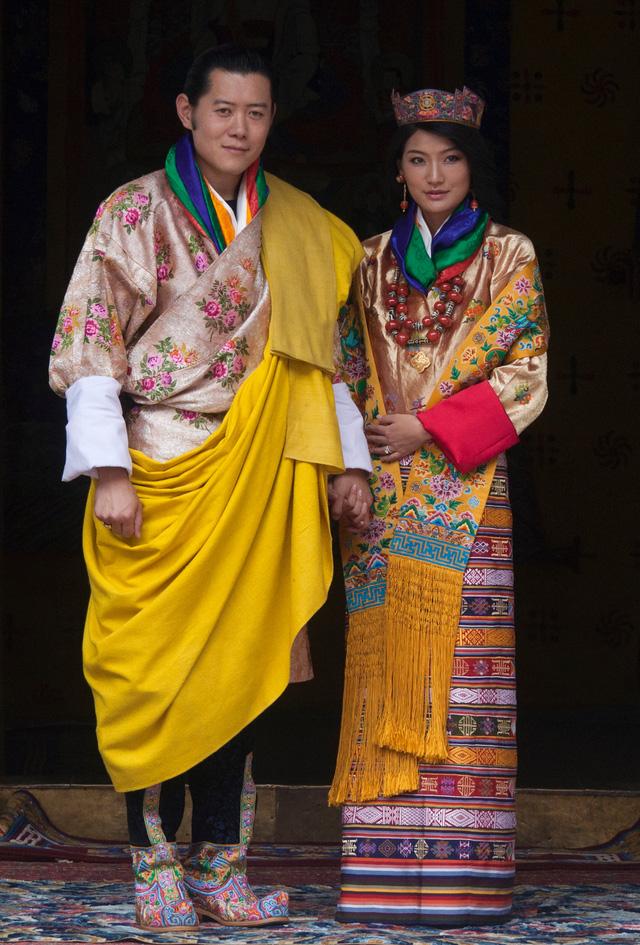 Chiêm ngưỡng váy cưới của những người đẹp hoàng gia - Ảnh 7.