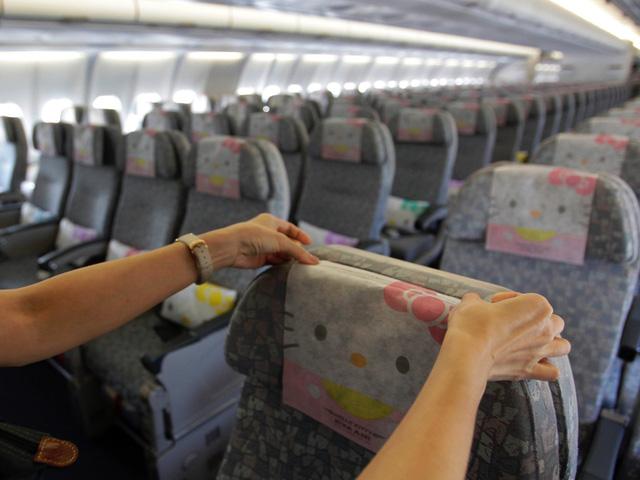 Những chuyến bay siêu dễ thương ngập tràn hình tượng Hello Kitty - Ảnh 6.