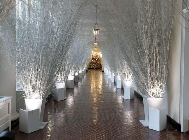 Nhà Trắng trang hoàng lộng lẫy đón Giáng sinh và năm mới - Ảnh 3.