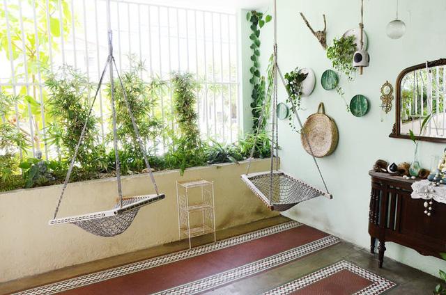 Tạo điểm nhấn nổi bật cho không gian trong nhà bằng màu xanh lá dịu mát - ảnh 11