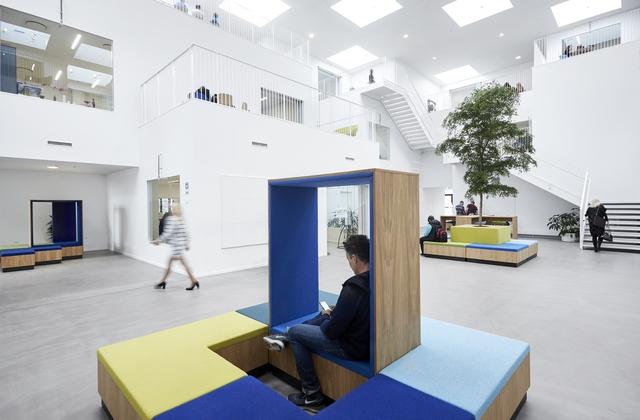 Không gian ấn tượng của trường đại học ở Đan Mạch - Ảnh 6.