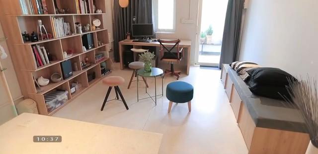 Biến hóa căn hộ 40m2 thành không gian rộng thoáng, tiện nghi - Ảnh 2.