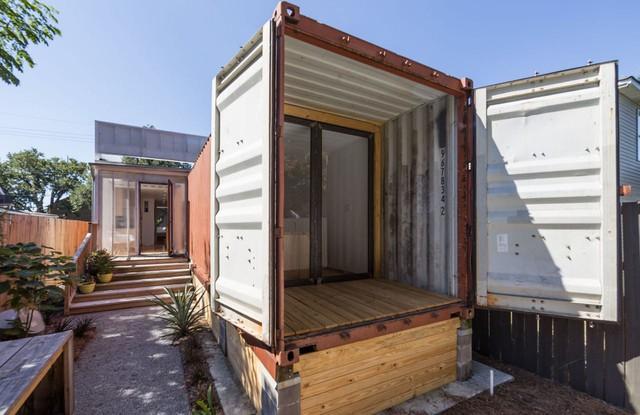 Ấn tượng nhà container có khoảng sân nhỏ - Ảnh 5.
