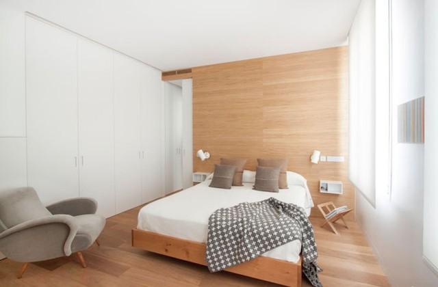 Mẫu thiết kế căn hộ nhỏ hiện đại, màu sắc tươi sáng - Ảnh 6.