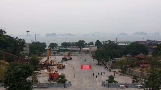 Di dời tượng Đức Ông nặng 40 tấn lên đồi cao 62m ở Quảng Ninh - Ảnh 6.