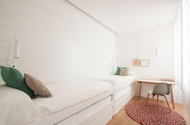 Mẫu thiết kế căn hộ nhỏ hiện đại, màu sắc tươi sáng - Ảnh 7.