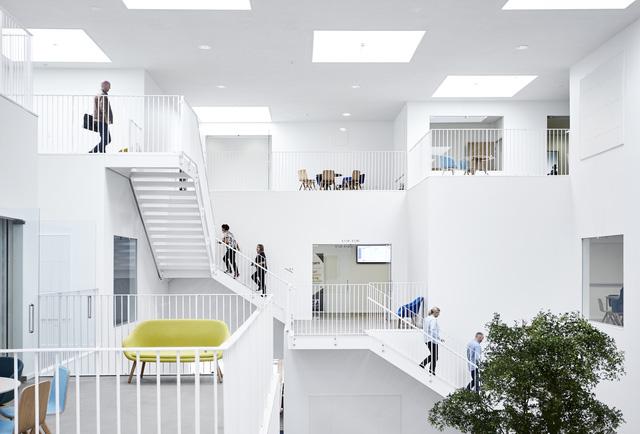 Không gian ấn tượng của trường đại học ở Đan Mạch - Ảnh 9.