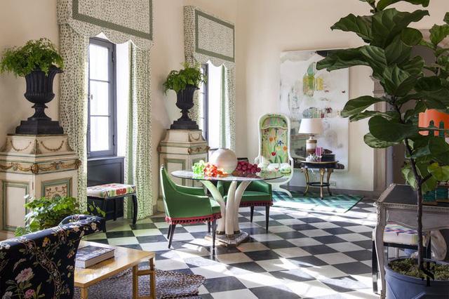 Tạo điểm nhấn nổi bật cho không gian trong nhà bằng màu xanh lá dịu mát - ảnh 6