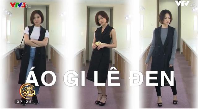 """MC Mai Trang chia sẻ bí quyết """"biến hóa"""" cho trang phục màu đen - Ảnh 1."""