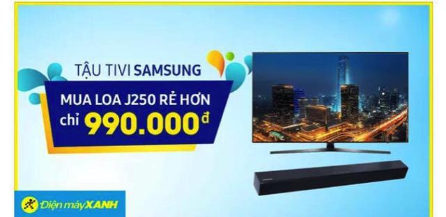 Nhiều ưu đãi khi mua tivi tại Điện máy Xanh trong tháng 4 - Ảnh 3.