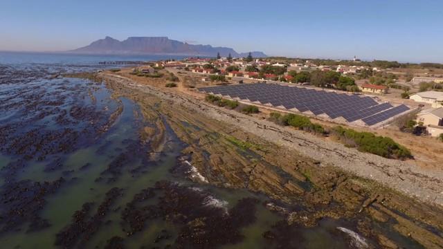 Mô hình năng lượng sạch trên đảo Robben - Di sản Thế giới của Nam Phi - Ảnh 1.