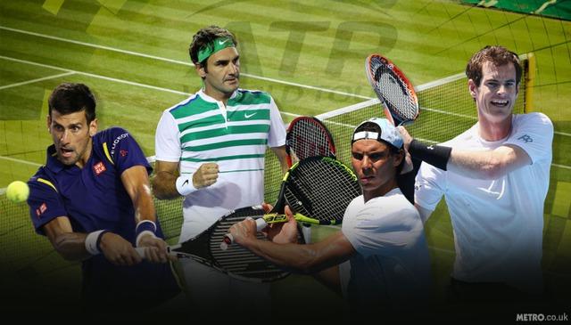 Cuộc đua cho vị trí số 1 thế giới của 5 tay vợt nam - Ảnh 1.