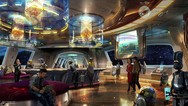 Disney sẽ mở cửa khách sạn Star Wars tại Orlando - Ảnh 1.