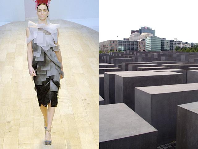 Những thiết kế thời trang siêu độc được thổi hồn từ kiến trúc - Ảnh 10.