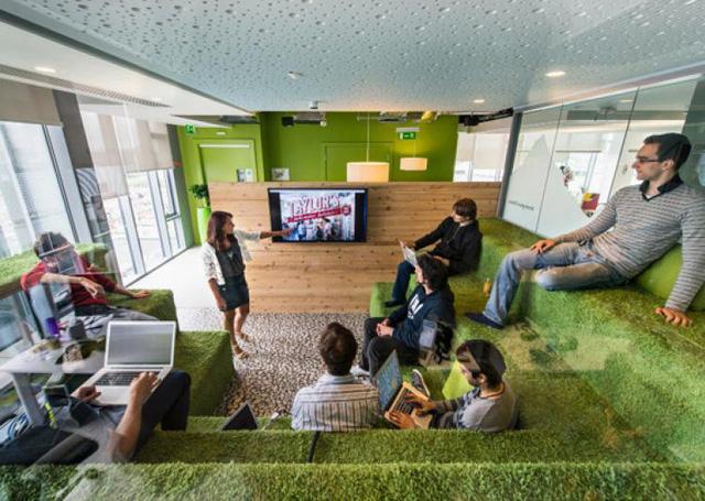 Không phải kiểu đóng hộp, đây mới là thiết kế văn phòng phù hợp trong tương lai - Ảnh 7.