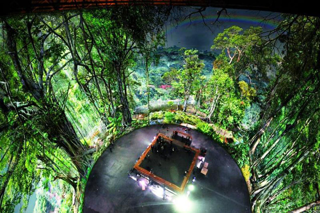 Tái hiện rừng nhiệt đới Amazon với 30.000 tấm ảnh - Ảnh 1.