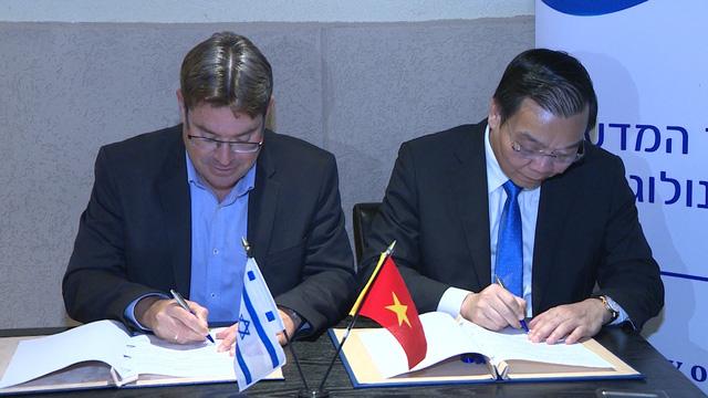 Việt Nam và Israel hợp tác toàn diện về Khoa học và Công nghệ - Ảnh 1.