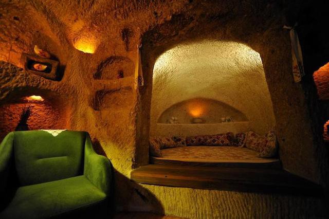 Những khách sạn hang đá độc đáo ở Thổ Nhĩ Kỳ - Ảnh 5.