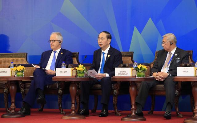 Đối thoại giữa Hội đồng giải đáp DN APEC và các nhà lãnh đạo kinh tế APEC - Ảnh 2.